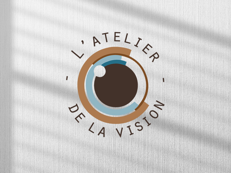 Logo Atelier de la vision - AM Communication